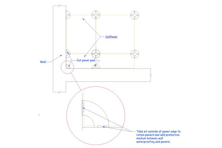 paver-support-pads-fixed-height-trim-guide